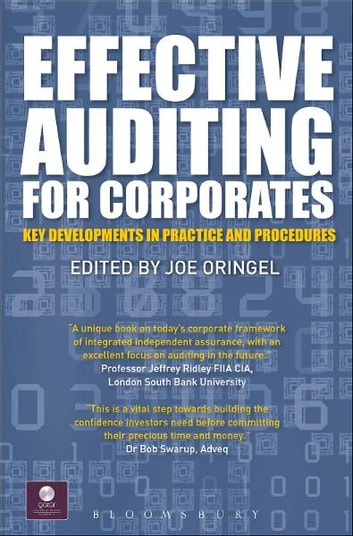 Effective Auditing For Corporates - Key Developments in Practice and Procedures ebook by