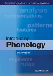 Introducing Phonology ebook by Odden, David