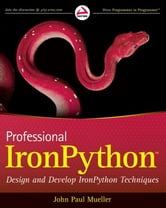 Professional IronPython ebook by John Paul Mueller