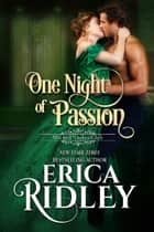 One Night of Passion ekitaplar by Erica Ridley