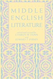 Middle English Literature ebook by