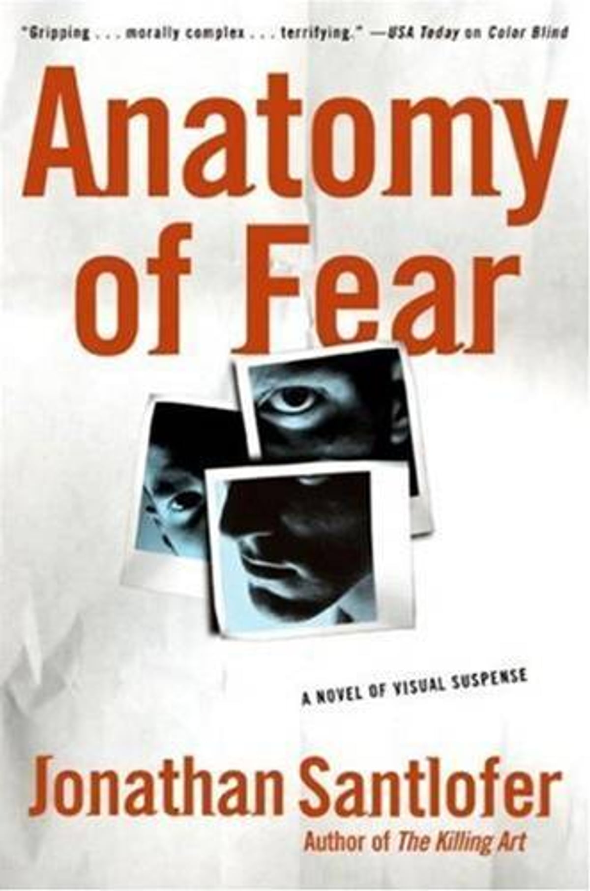 Anatomy Of Fear Ebook By Jonathan Santlofer 9780061868306
