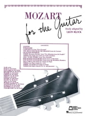 Mozart for Guitar (Songbook) ebook by Wolfgang Amadeus Mozart