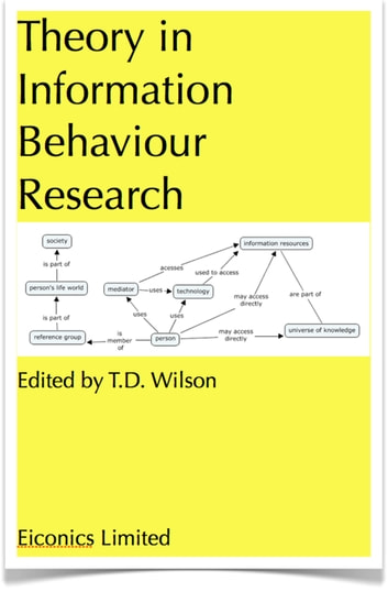 Theory in information behaviour research ebook by td wilson theory in information behaviour research ebook by td wilson fandeluxe Gallery