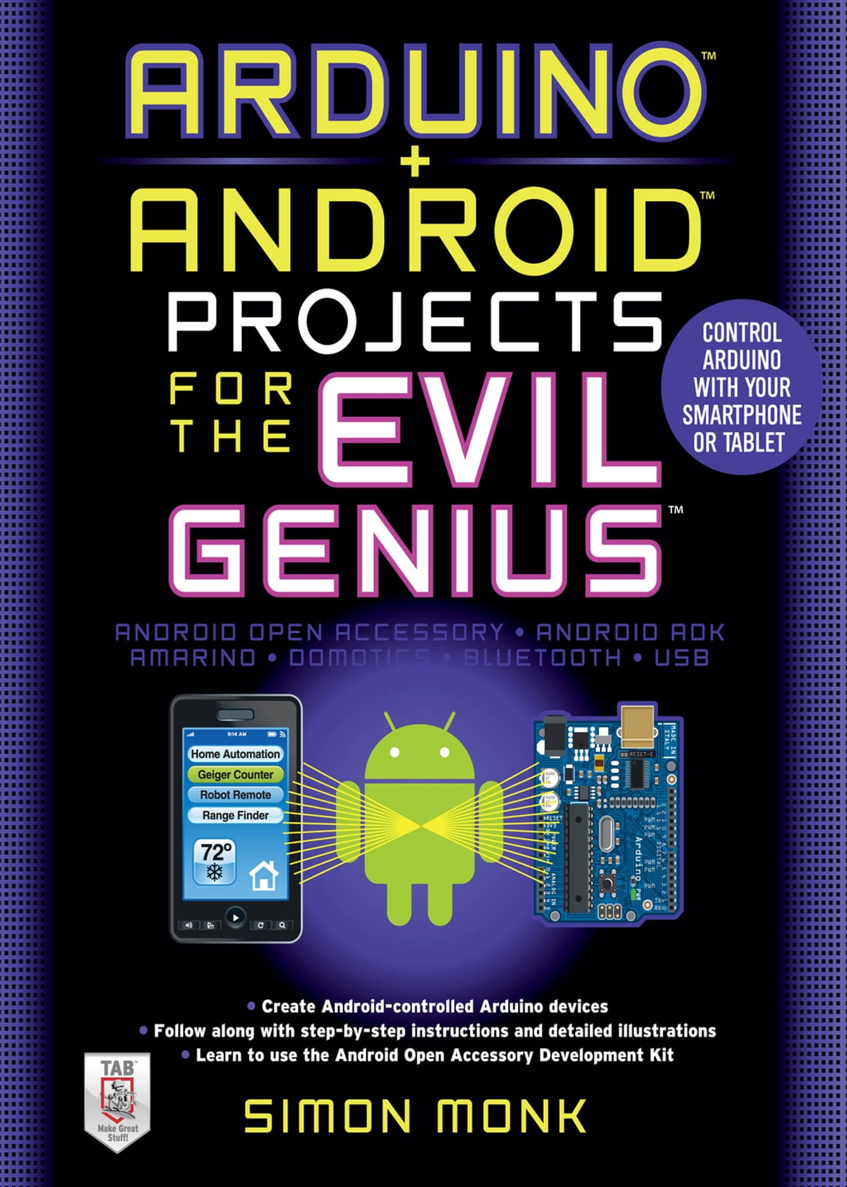 Arduino Android Projects For The Evil Genius Control With Minecraft How To Make An Instant Off Delayed On Redstone Circuit Your Smartphone Or Tablet Ebook By Simon Monk 9780071775977 Rakuten Kobo