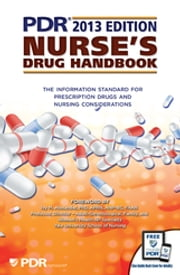 PDR Nurse's Drug Handbook 2013 ebook by PDR Staff