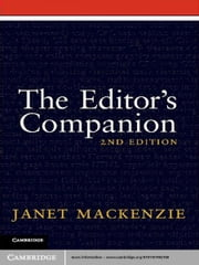 The Editor's Companion ebook by Janet Mackenzie