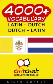 4000+ Vocabulary Latin - Dutch ebooks by Gilad Soffer
