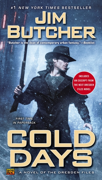 Cold Days ebook by Jim Butcher
