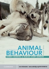 An Introduction to Animal Behaviour ebook by Manning, Aubrey