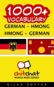 1000+ Vocabulary German - Hmong ebook by Gilad Soffer