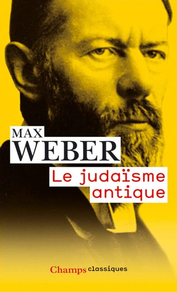Le judaïsme antique ebook by Max Weber