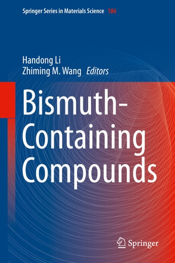 Bismuth-Containing Compounds ebook by