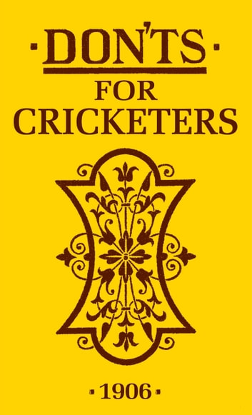 Don'ts for Cricketers eBook by Bloomsbury Publishing