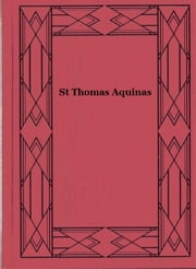St Thomas Aquinas ebook by G. K. Chesterton