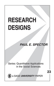 Research Designs ebook by Kobo.Web.Store.Products.Fields.ContributorFieldViewModel