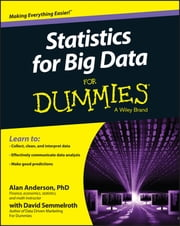 Statistics for Big Data For Dummies ebook by Alan Anderson,David Semmelroth