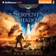 Serpent's Shadow, The audiobook by Rick Riordan