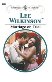 Marriage on Trial ebook by Lee Wilkinson