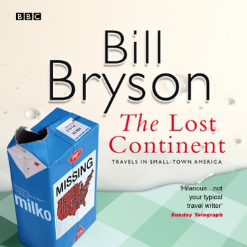 The Lost Continent audiobook by Bill Bryson