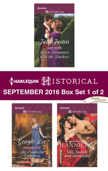 Harlequin Historical September 2016 - Box Set 1 of 2 - An Anthology ebook by Julia Justiss,Georgie Lee,Jeannie Lin