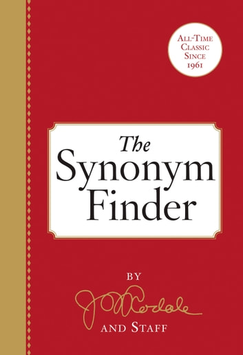 The Synonym Finder ebook by