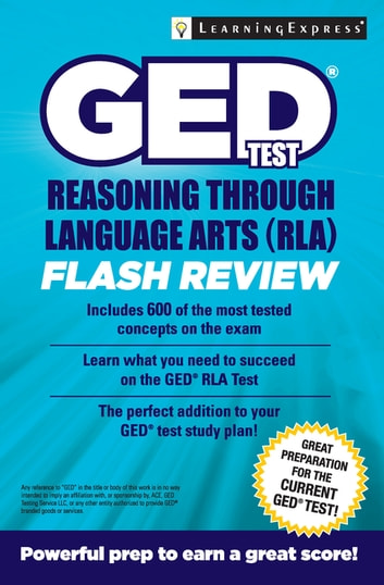 Ged Test Rla Flash Review Ebook By Learningexpress Llc