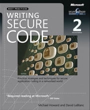 Writing Secure Code ebook by David LeBlanc,Michael Howard