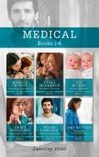 Medical Box Set 1-6 Jan 2020/Rescued by the Single Dad Doc/The Midwife's Secret Child/The Nurse's Twin Surprise/A Weekend with Her Fak ebook by Marion Lennox, Sue Mackay, Susan Carlisle,...
