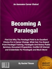 Becoming A Paralegal ebook by Rachel Tinson