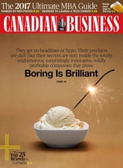 Canadian Business - Issue# 10 - Rogers Publishing magazine
