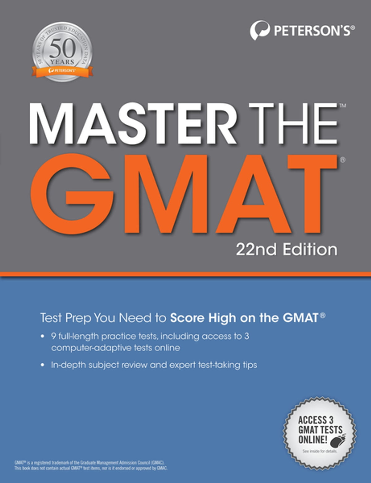 Master the GMAT, 22nd Edition eBook by Peterson's - 9780768940633 | Rakuten  Kobo