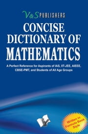 Concise Dictionary of Mathematics ebook by EDITORIAL BOARD