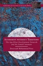 Authority without Territory ebook by Daryoush Mohammad Poor