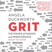 Grit - The Power of Passion and Perseverance audiobook by Angela Duckworth