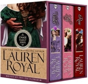 Chase Family Boxed Set Two: The Flowers - Violet, Lily, and Rose ebook by Lauren Royal