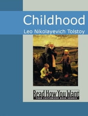 Childhood ebook by Leo Nikolayevich Tolstoy