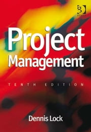 Project Management ebook by Mr Dennis Lock