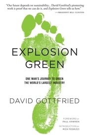 Explosion Green - One Man's Journey To Green The World's Largest Industry ebook by David Gottfried