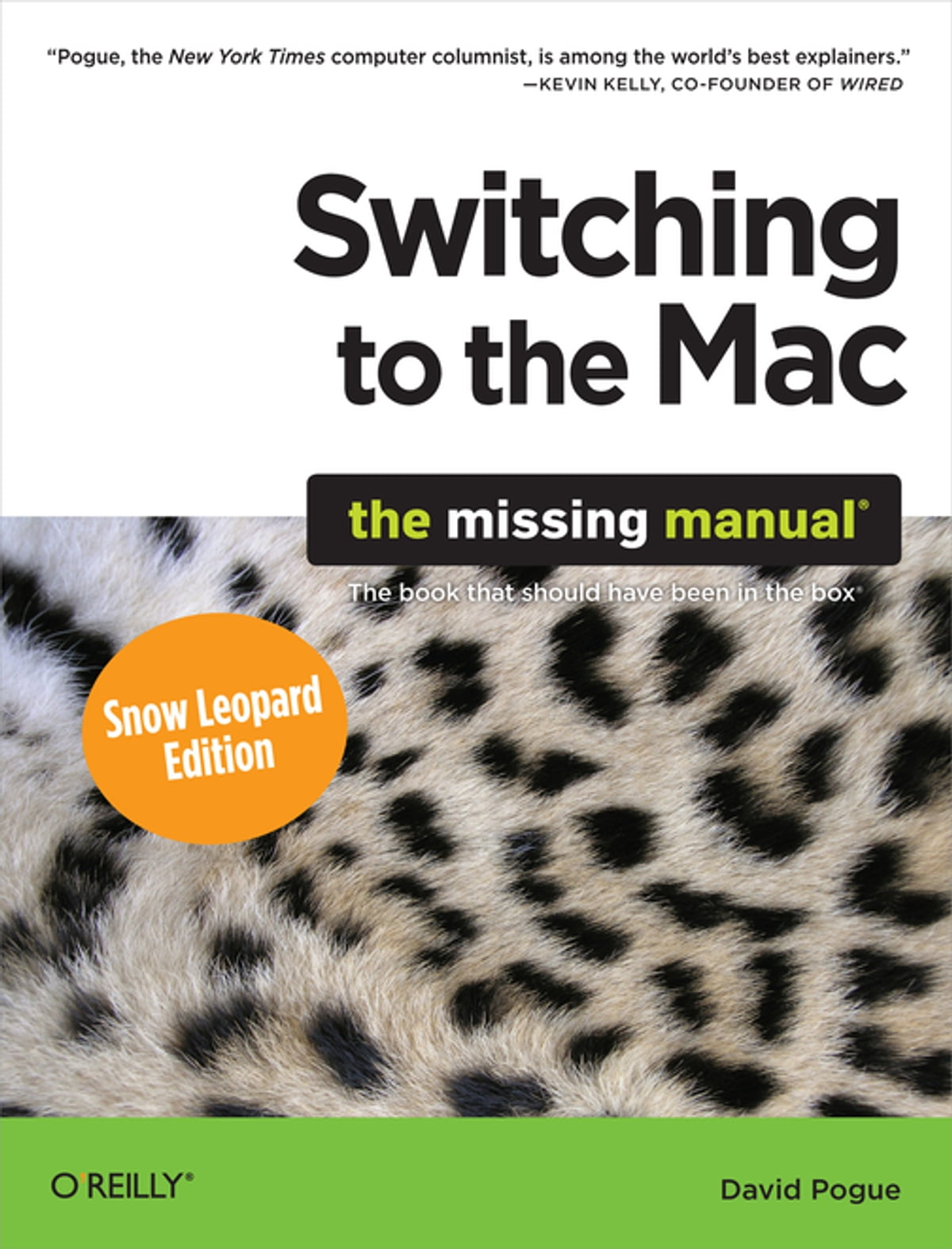 switching to the mac the missing manual snow leopard edition ebook rh kobo com White Tiger Snow Baby Leopard