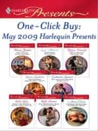 One-Click Buy: May 2009 Harlequin Presents - The Sicilian Boss's Mistress\Valentino's Love-Child\Virgin Bought and Paid For\The Ruthless Billionaire's Virgin\The Greek Millionaire's Secret Child\Taken for Revenge, Bedded for Pleasure ebook by Penny Jordan, Lucy Monroe, Robyn Donald,...
