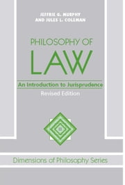 Philosophy Of Law - An Introduction To Jurisprudence ebook by Jeffrie G. Murphy,Jules Coleman