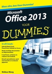 Office 2013 voor Dummies ebook by Wallace Wang