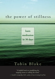 The Power of Stillness - Learn Meditation in 30 Days ebook by Tobin Blake