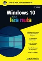 Windows 10 Poche Pour les Nuls, 2e ebook by Andy RATHBONE
