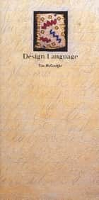 Design Language eBook by Tim McCreight