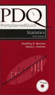 PDQ Statistics ebook by Norman, Geoffrey R.