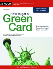 How to Get a Green Card ebook by Ilona Bray,Loida Nicolas Lewis
