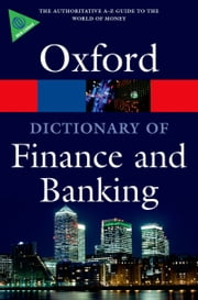 A Dictionary of Finance and Banking ebook by Market House Books