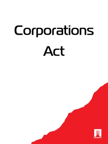Corporations Act ebook by Australia